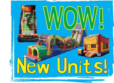 Brand New Units for 2014!